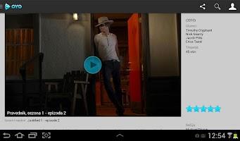 Screenshot of OYO