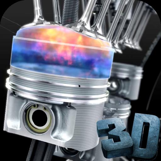 エンジン3Dビデオライブ壁紙 個人化 App LOGO-硬是要APP