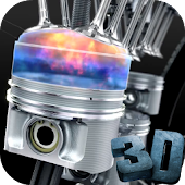 Engine 3D Video Live Wallpaper