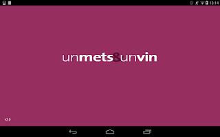 Screenshot of un mets & un vin