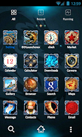 Screenshot of ICON PACK -Blue Dragon(Free)