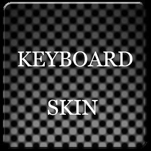 Grey Carbon Keyboard Skin