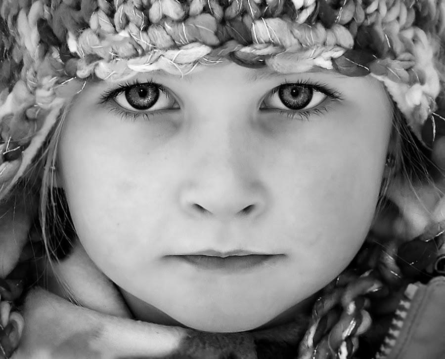 by Jane Bjerkli - Black & White Portraits & People