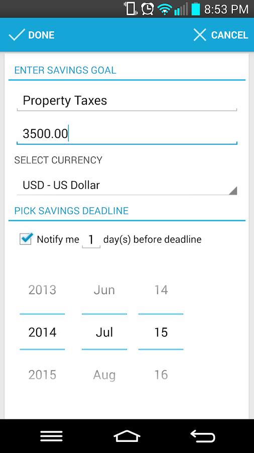 Saving Made Simple - Donate - screenshot