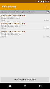 Call Logs Backup & Restore v3.60