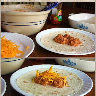 Bean & Cheese Burritos