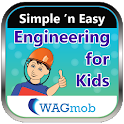 Engineering for kids by WAGmob icon
