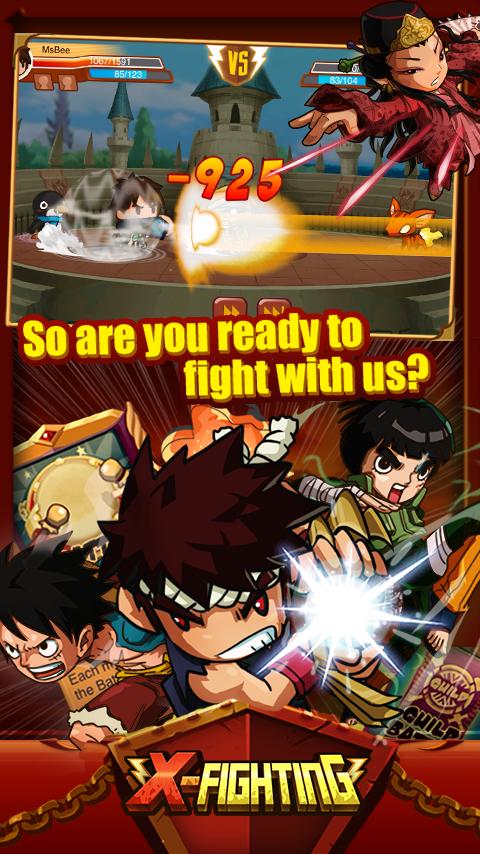X-Fighting- screenshot