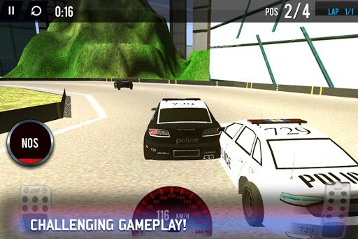 Police Moto GT Racing in City