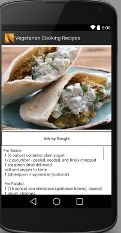 Vegetarian recipes android apps on google play vegetarian recipes screenshot sisterspd
