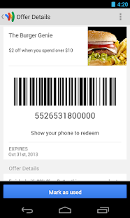 Google Wallet - screenshot thumbnail