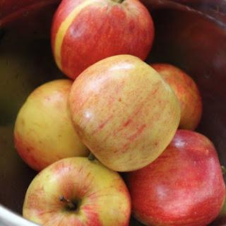 Honey and Cinnamon Stewed Apples.