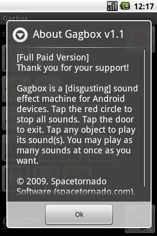 Gagbox Sound Effects Machine- screenshot