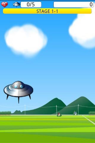 UFO Busters- screenshot