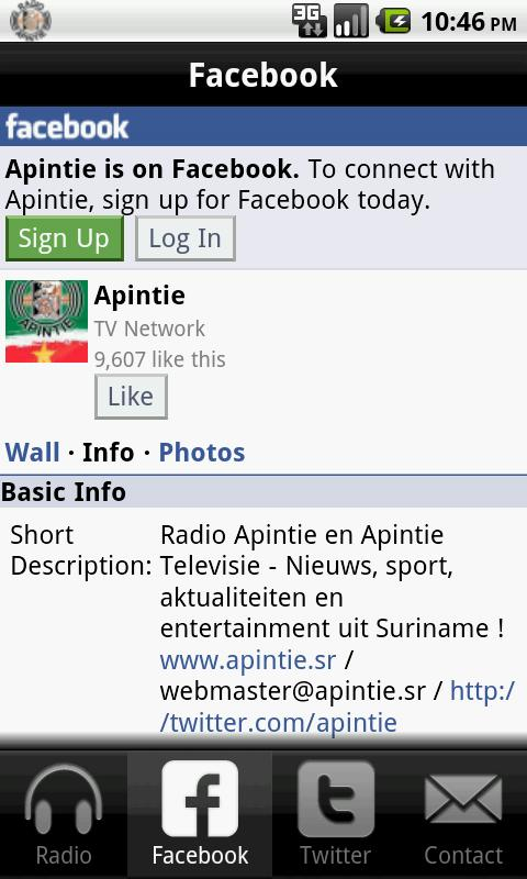 Apintie- screenshot