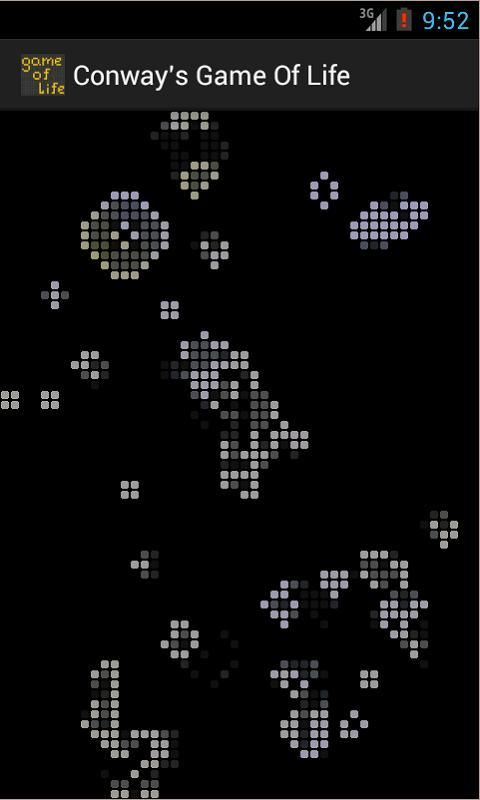 Conway's Game of Life- screenshot