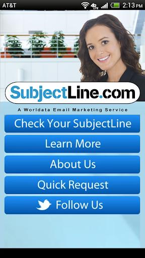 Subject Line