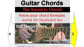 Screenshot of Guitar Chords for Beginners