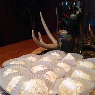 Cream Cheese Snowball Cookies.