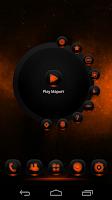 Screenshot of NextLauncher Theme MagicOrange