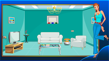 Screenshot of Trendy House Escape