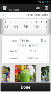 Weight Tracker weight loss app- screenshot thumbnail