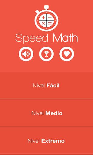 Speed Math