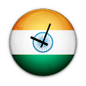 Indian Flag Clock Widget icon