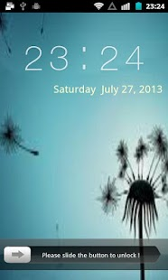 Slide to Unlock Screen Lock - screenshot thumbnail