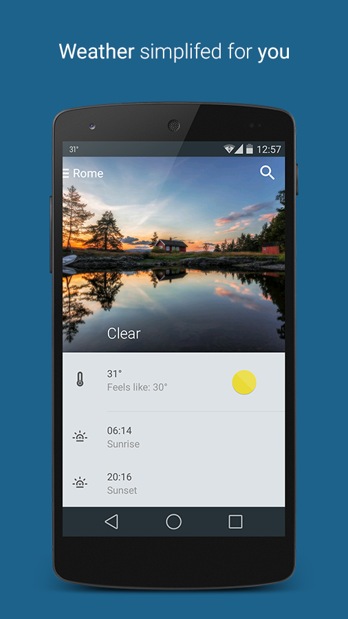 Weatherlove & widgets- screenshot