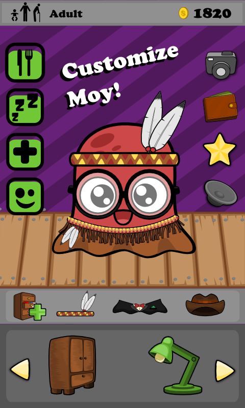 Moy - Virtual Pet Game- screenshot