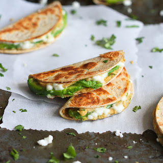 Mini Avocado & Hummus Quesadilla.