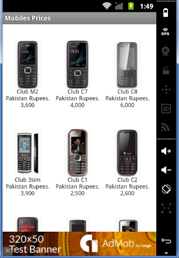 Mobiles Prices in Pakistan