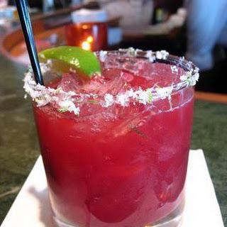 Frozen Cherry Margarita