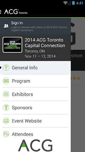 ACG Toronto Capital Connection