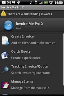 InvoiceMe Pro - Invoice App Screenshot 1