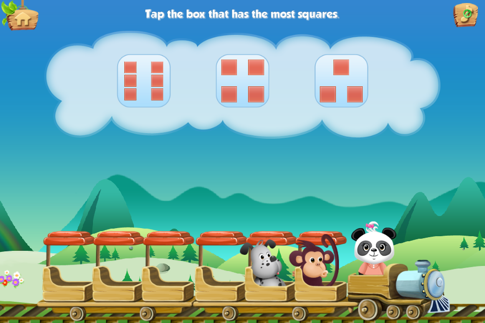 Lola's Math Train FREE - screenshot