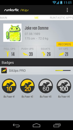 Runtastic Sit-ups & Abs PRO v1.10 [Paid]