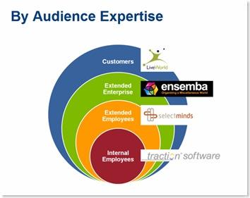 Bersin categorisation by audience expertise