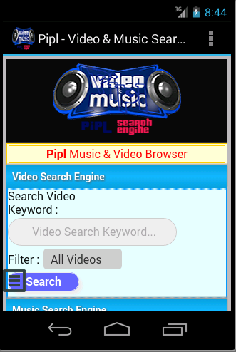 Pipl - Video And Music Search