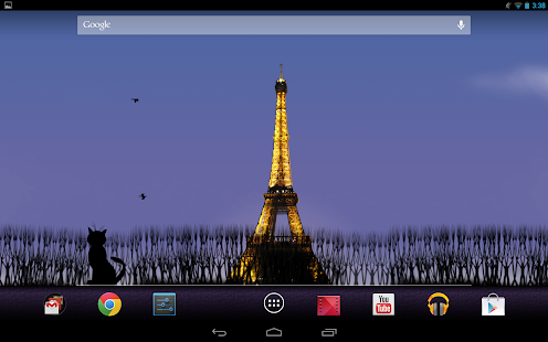 Mon Paris Live Wallpaper Free - screenshot thumbnail