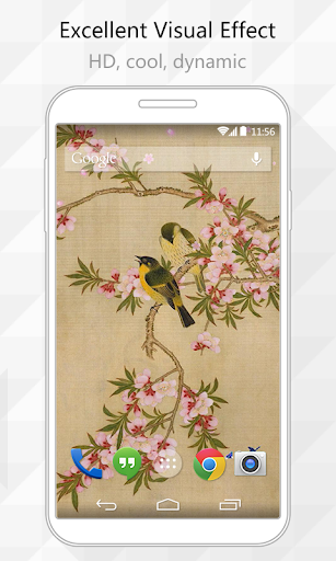 Two Birds Live Wallpaper