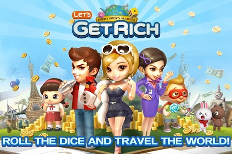 [Android / IOS] Line Let's Get Rich ( Moodoo Online / Monopoly ) - Part 11