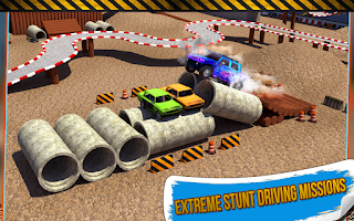 Screenshot of 4x4 Monster Truck Stunts 3D