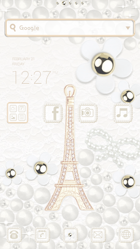 Eiffel dodol launcher theme
