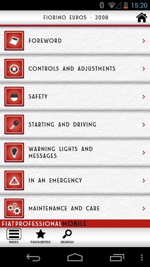 Fiat Professional Mobile- screenshot