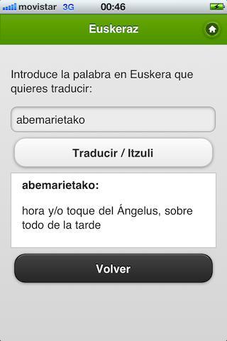 Euskeraz ikasi- screenshot