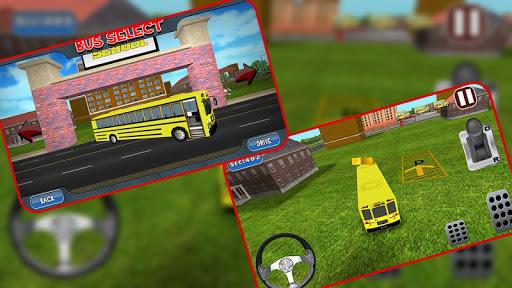 【免費模擬App】3D School Bus Driving-APP點子