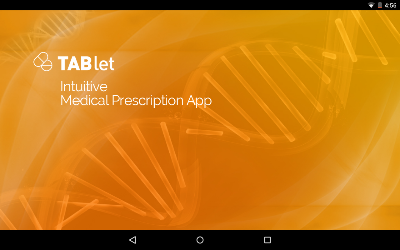 TABlet Prescription App- screenshot