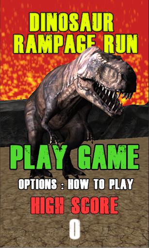 Dinosaur Runner 3d - Free Game